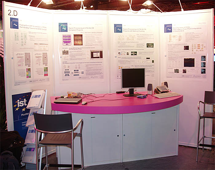 photo of our IST 2006 booth